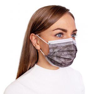mediciniska sejas maska melna