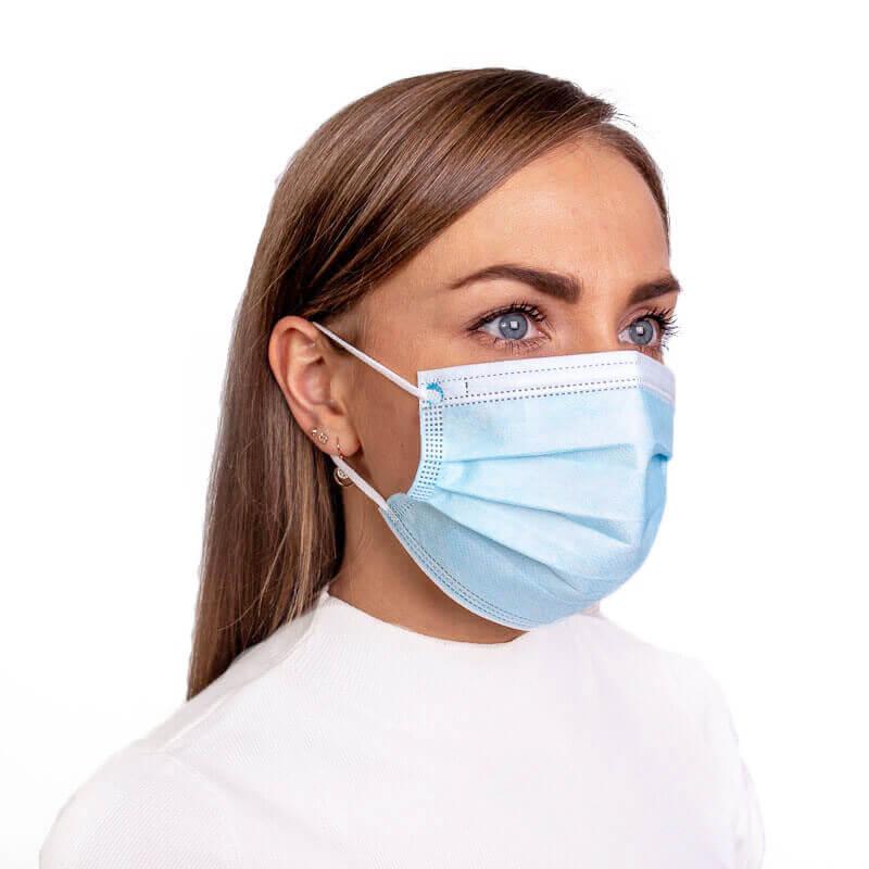 zila mediciniska sejas maska